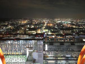 ③タワーからの夜景