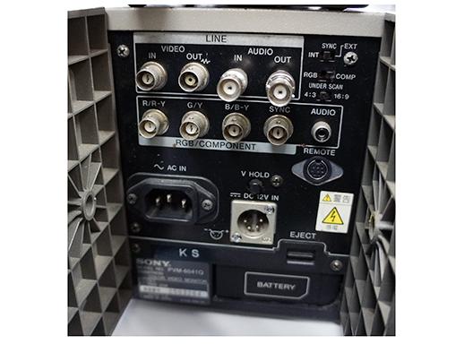6型モニター SONY PVM-6041Qの詳細画像2