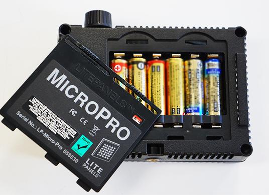 小型LEDライト LITE PANELS LP-MICRO-PROの詳細画像2