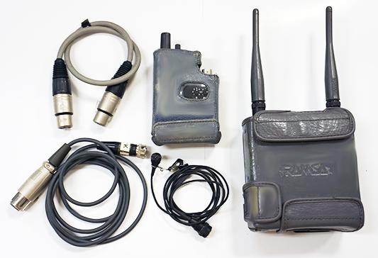 ワイヤレスマイク RAMSA WX-RB700/WX-TB840の詳細画像2