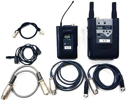 ワイヤレスマイク SONY WRR-861/WRT-822の詳細画像3