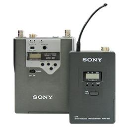 ワイヤレスマイク SONY WRR-861/WRT-822の詳細画像1