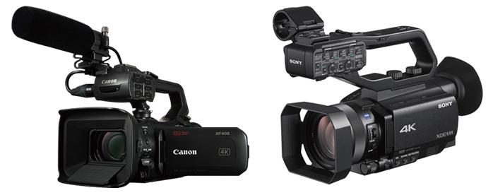【新機材】Canon XF405・SONY PXW-Z90レンタル開始!